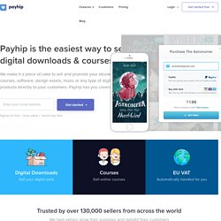 Upload and Sell your eBooks with Paypal - Payhip