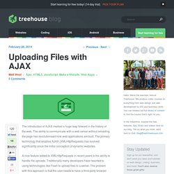 Uploading Files with AJAX