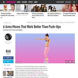 6 Upper Body Exercises That Beat Push-Ups