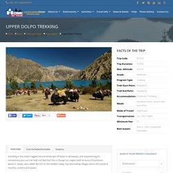 Upper Dolpo Trekking, Dolpo trekking, Dolpo region trek