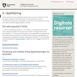 Digitala resurser