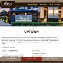 Uptown - Perry's Steakhouse & Grille