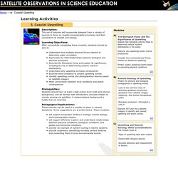 SOSE - Coastal Upwelling Online Learning Activity
