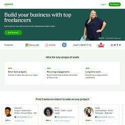 Upwork - Top Rated Digital Freelancers