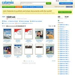 UQAR web on Calaméo