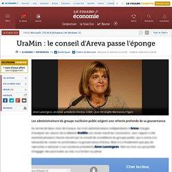 Sociétés : UraMin: le conseil d'Areva passe l'éponge