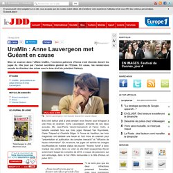 UraMin : Anne Lauvergeon met Guéant en cause