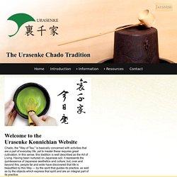 Urasenke Konnichian Official English Website