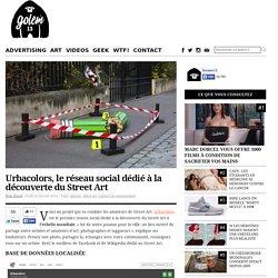 Urbacolors, le réseau social dédié à la découverte du Street Art