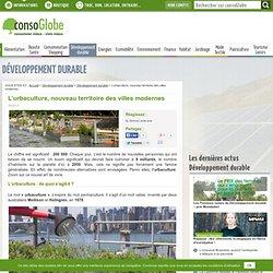 L'urbaculture, nouveau territoire des villes modernes