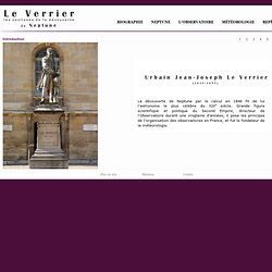 Urbain Le Verrier (1811-1877) - Introduction