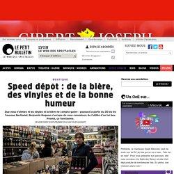 Guide urbain Lyon : Speed dépôt à Lyon : de la bière, des vinyles et de la bonne humeur - Speed dépôt : de la bière, des vinyles et de la bonne humeur - article publié par Julie Hainaut 56169