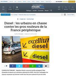 Diesel: les urbains en chasse contre les gros rouleurs de la France périphérique