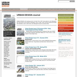 Urban Design Journal