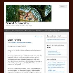 Sound Economics
