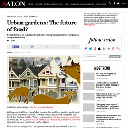 Urban gardens: The future of food?