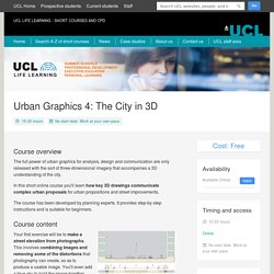 Urban Graphics 4: The City in 3D