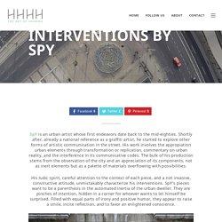 Urban Interventions by Spy