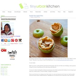 Tiny Urban Kitchen: Inside Out Apple Pies
