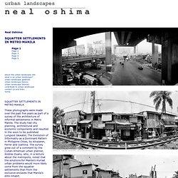 urban landscapes - neal oshima
