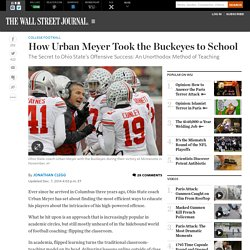 How Urban Meyer Took the Buckeyes to School