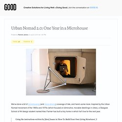 Urban Nomad 2.0: One Year in a Microhouse - Culture