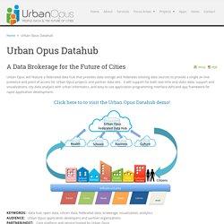 Urban Opus Datahub