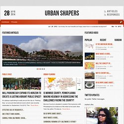 Urban Shapers
