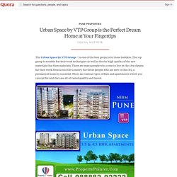 Urban Space by VTP Group Attractive Low Budget Flats at NIBM Pune