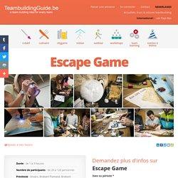 Escape Game - UrbanGaming - Les meilleures idées et activités de Team Building