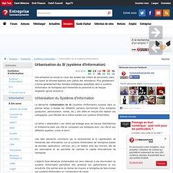 Urbanisation du SI (système d'Information)