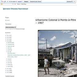 Urbanisme Colonial à Pointe-à-Pitre