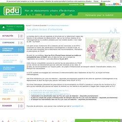 Les plans locaux d'urbanisme - Les plans locaux d'urbanisme - Plan de déplacements urbains Île-de-France