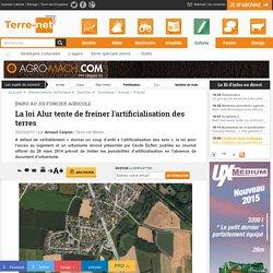 Loi Alur - Urbanisme - foncier agricole