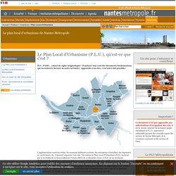 Le plan local d'urbanisme de Nantes Métropole