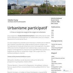Urbanisme participatif