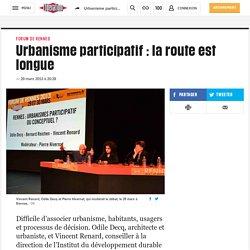 Urbanisme participatif : la route est longue. Alexandre Blaise. liberation.f