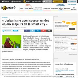 """L'urbanisme open source, un des enjeux majeurs de la smart city"""