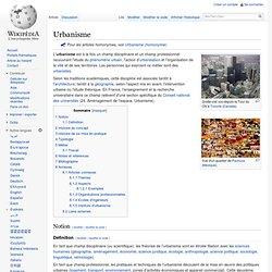 Urbanisme (WIKI)