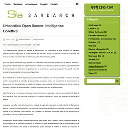 Urbanistica Open Source: Intelligenza Collettiva