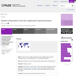 PLOS 23/02/17 Global urbanization and the neglected tropical diseases
