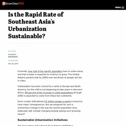 *****Urbanisation in Asia: City living: ASEAN is urbanizing rapidly, but is it sustainable?