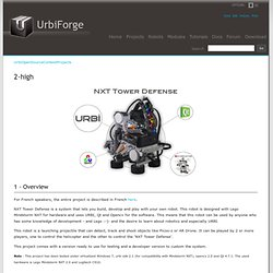 UrbiForge UrbiOpenSourceContestProjects/2-high