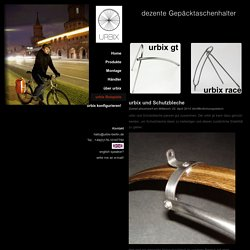 urbix - urbix und Schutzbleche