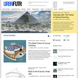 URBNFUTR | The Future of Cities & Mankind