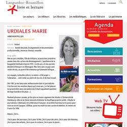 URDIALES MARIE, Languedoc-Roussillon livre et lecture