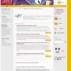 Accueil - URFIST de Lyon