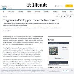 L'urgence à développer une école innovante