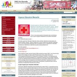 Urgence Education Marseille - SNES Aix-Marseille