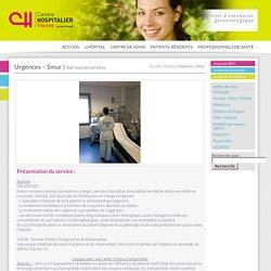 Urgences – Smur « CH de Vienne
